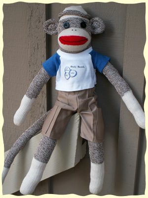 Dad Sock Monkey